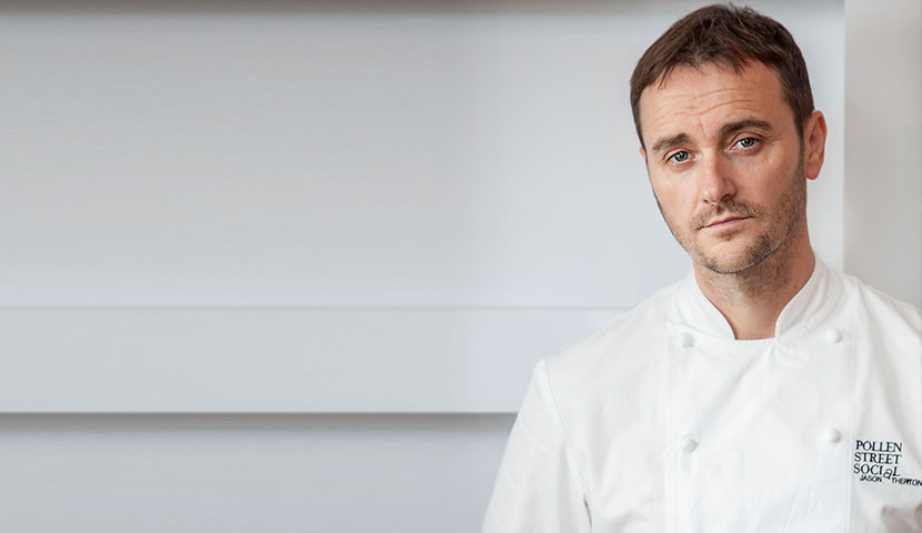 Jason Atherton, executive chef of Pollen Street Social